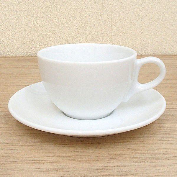 アメリカンコーヒーカップソーサー 白 パーチェ 洋食器 業務用食器 商品番号:k970251-700055