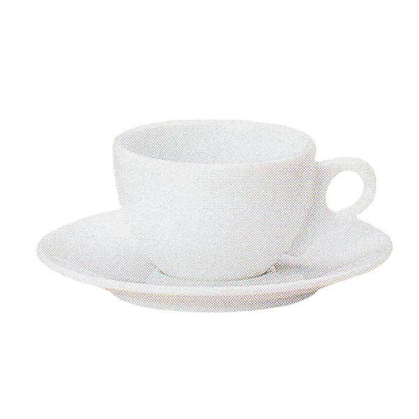 エスプレッソカップソーサー 白 パーチェ 洋食器 業務用食器 商品番号:k970258-700059
