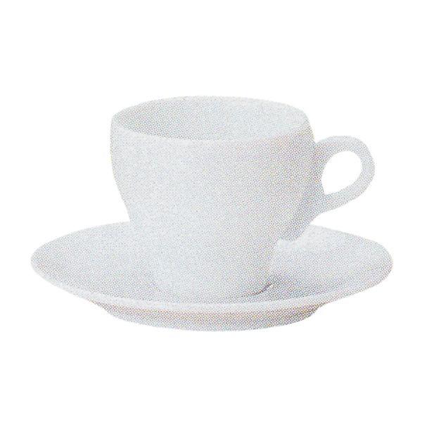 エスプレッソカップソーサー 白 ステラ 洋食器 業務用食器 商品番号:k970358-700059