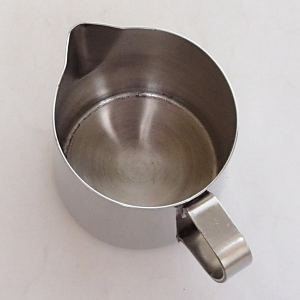 ミルクピッチャー 370cc ステンレス製クリーマー 業務用食器 商品番号:ks450164