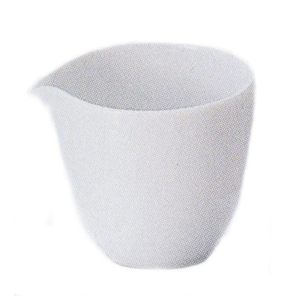 ミルクピッチャー 白 Crecentクレセント クリーマー 陶器 業務用食器 Studio010 商品番号:scc-006