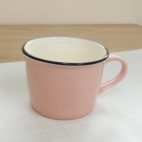 マグカップ ホーロー風 ピンク Caldo カルド 洋食器 業務用食器 STUIO010 商品番号:scd-101