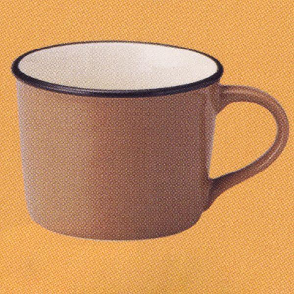 マグカップ ホーロー風 ブラウン Caldo カルド 洋食器 業務用食器 STUIO010 商品番号:scd-102