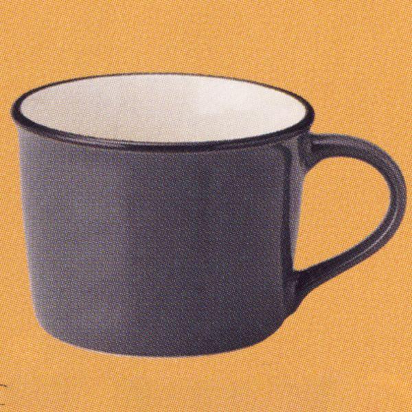 マグカップ ホーロー風 グレー Caldo カルド 洋食器 業務用食器 STUIO010 商品番号:scd-103