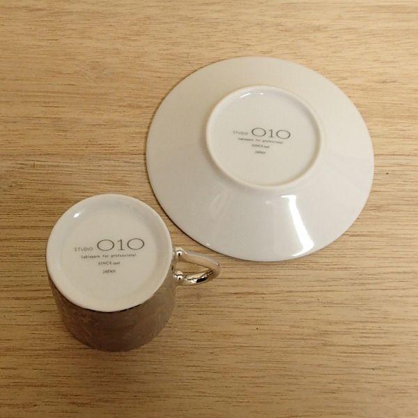 エスプレッソカップソーサー シルバーレース 洋食器 業務用食器 STUDIO 010 商品番号:sde-307