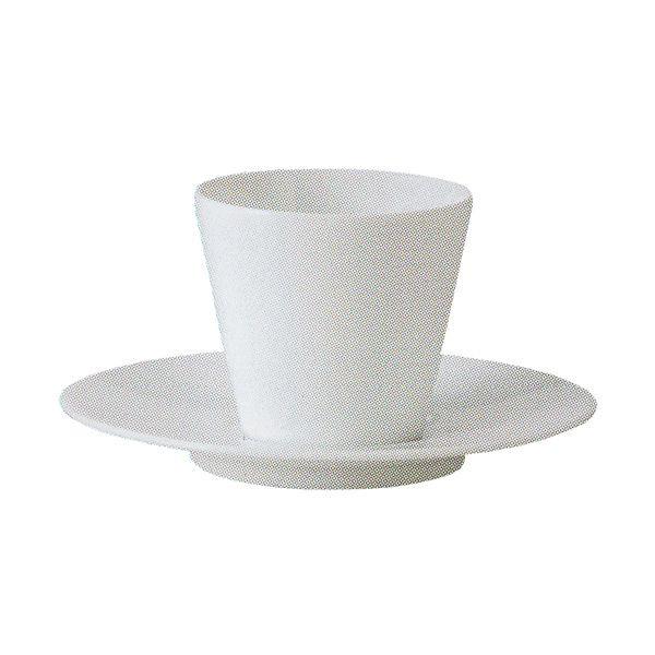 コーヒーカップソーサー 白 Garboガルボ 洋食器 業務用食器 STUDIO010 商品番号:sgb-107-105