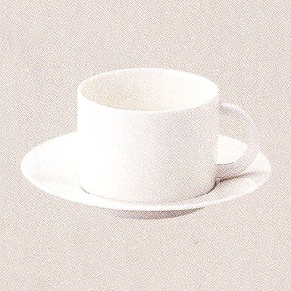 コーヒーカップソーサー 白 ニューボン Graceグレース 洋食器 業務用食器 STUDIO010 商品番号:sgr-010-011