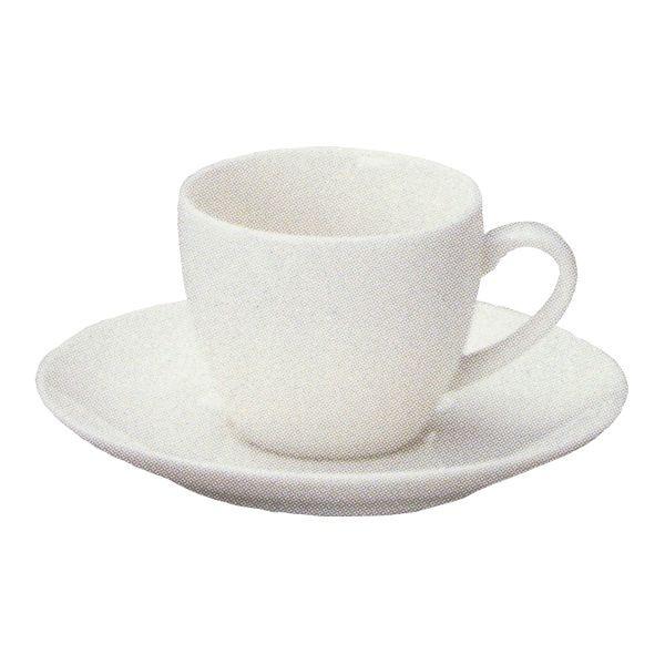 コーヒーカップソーサー 白 ニューボン Ismイスム 洋食器 業務用食器 STUDIO010 商品番号:sis-028-029