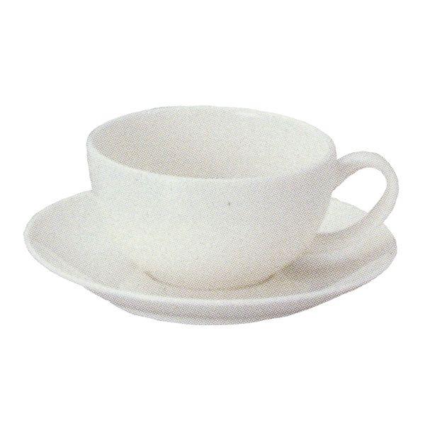 ティーカップソーサー 白 ニューボン Ismイスム 洋食器 業務用食器 STUDIO013 商品番号:sis-030-029