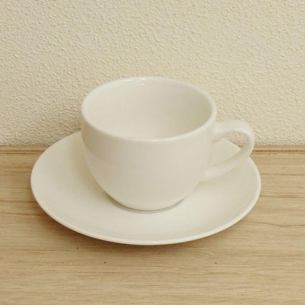 コーヒーカップソーサー カプチーノカップ 白 ニューボン Ismイスム 洋食器 業務用食器 STUDIO010 商品番号:sis-033-029