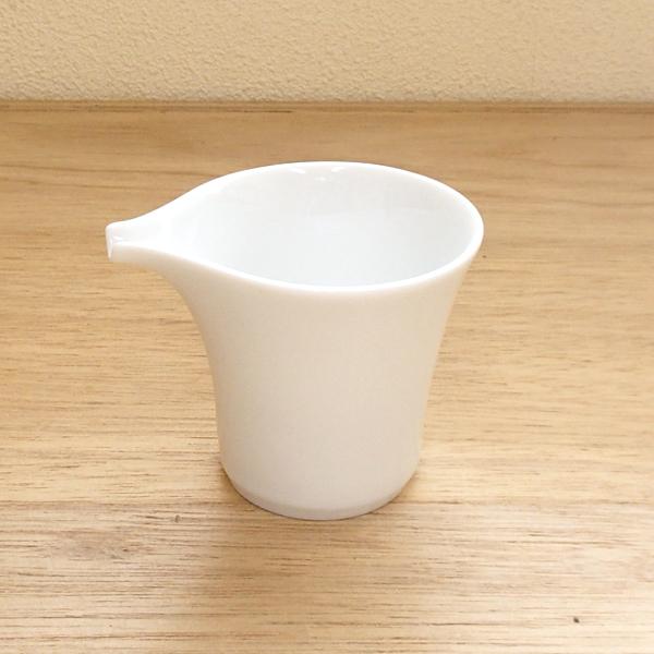 ミルクピッチャー 白 Moonムーン クリーマー 陶器 業務用食器 Studio010 商品番号:smn-008
