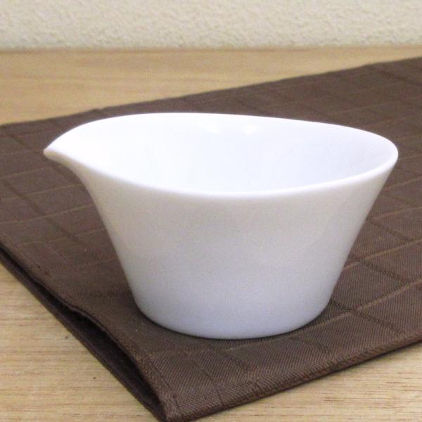 ミルクピッチャー 白 Peritoペリート クリーマー 陶器 業務用食器 Studio010 商品番号:spr-003