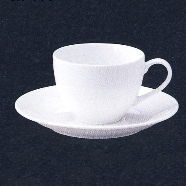コーヒーカップソーサー 白 軽量強化 Royalロワイヤル 洋食器 業務用食器 STUDIO010 商品番号:sry-114-116