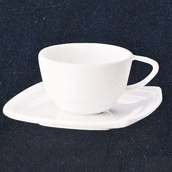 コーヒーカップソーサー 白 Sonareソナーレ 洋食器 業務用食器 STUDIO010 商品番号:ssn-106-107
