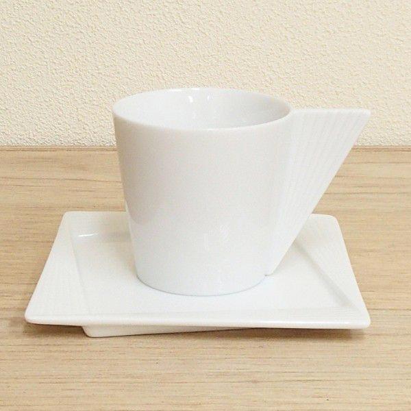 コーヒーカップソーサー 白 Urbanitaアーバニータ 洋食器 業務用食器 STUDIO010 商品番号:sub-003-004