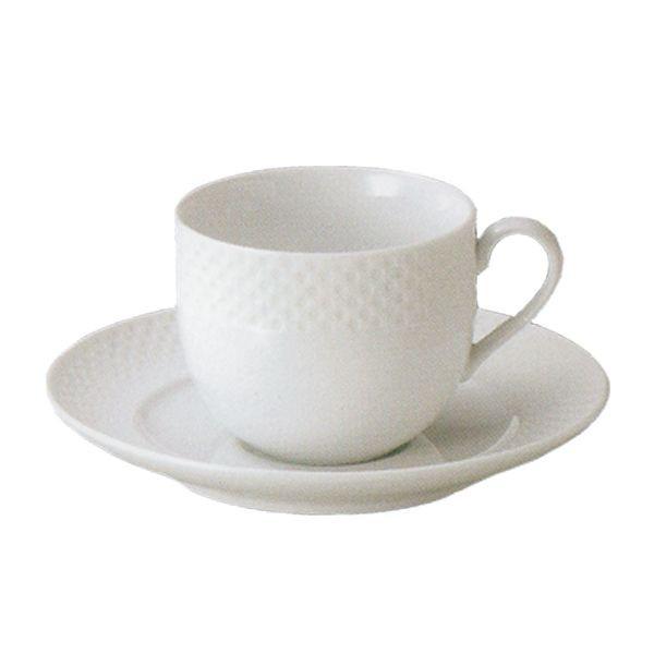 コーヒーカップソーサー 白 Vnusutaベヌスタ 洋食器 業務用食器 STUDIO010 商品番号:svt-204-205