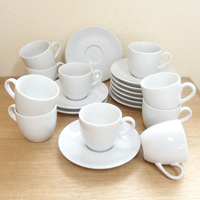 コーヒーカップソーサー 10客セット ホテル ベーシック