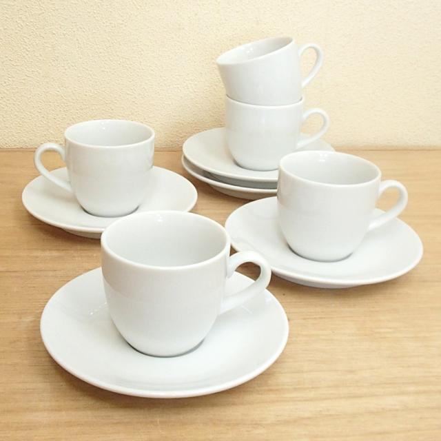 コーヒーカップソーサー 5客セット ホテル ベーシック
