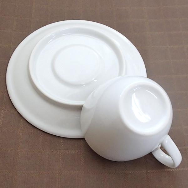 コーヒーカップソーサー 白 ホテル ベーシック 洋食器 業務用食器 商品番号:y10-23-9