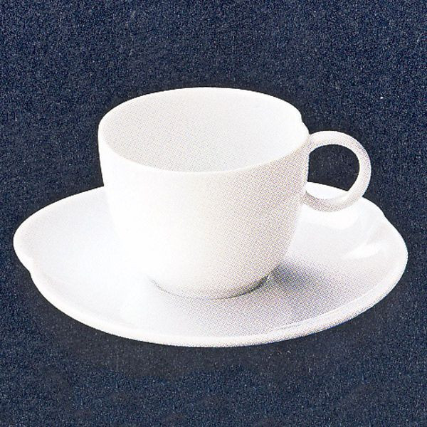 コーヒーカップソーサー 白 Saiサイ 洋食器 業務用食器 STUDIO010 商品番号:ssa-009-010