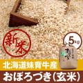 209-30303 妹背牛産おぼろづき(玄米)5kg