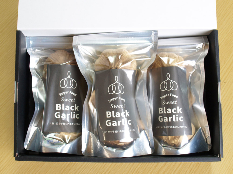 【広島県】完全発酵 熟成 黒にんにく 300g【産地直送・同梱不可】