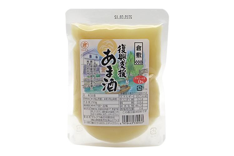 【岡山県マルクラ純正食品】岡山県産 復興支援あま酒