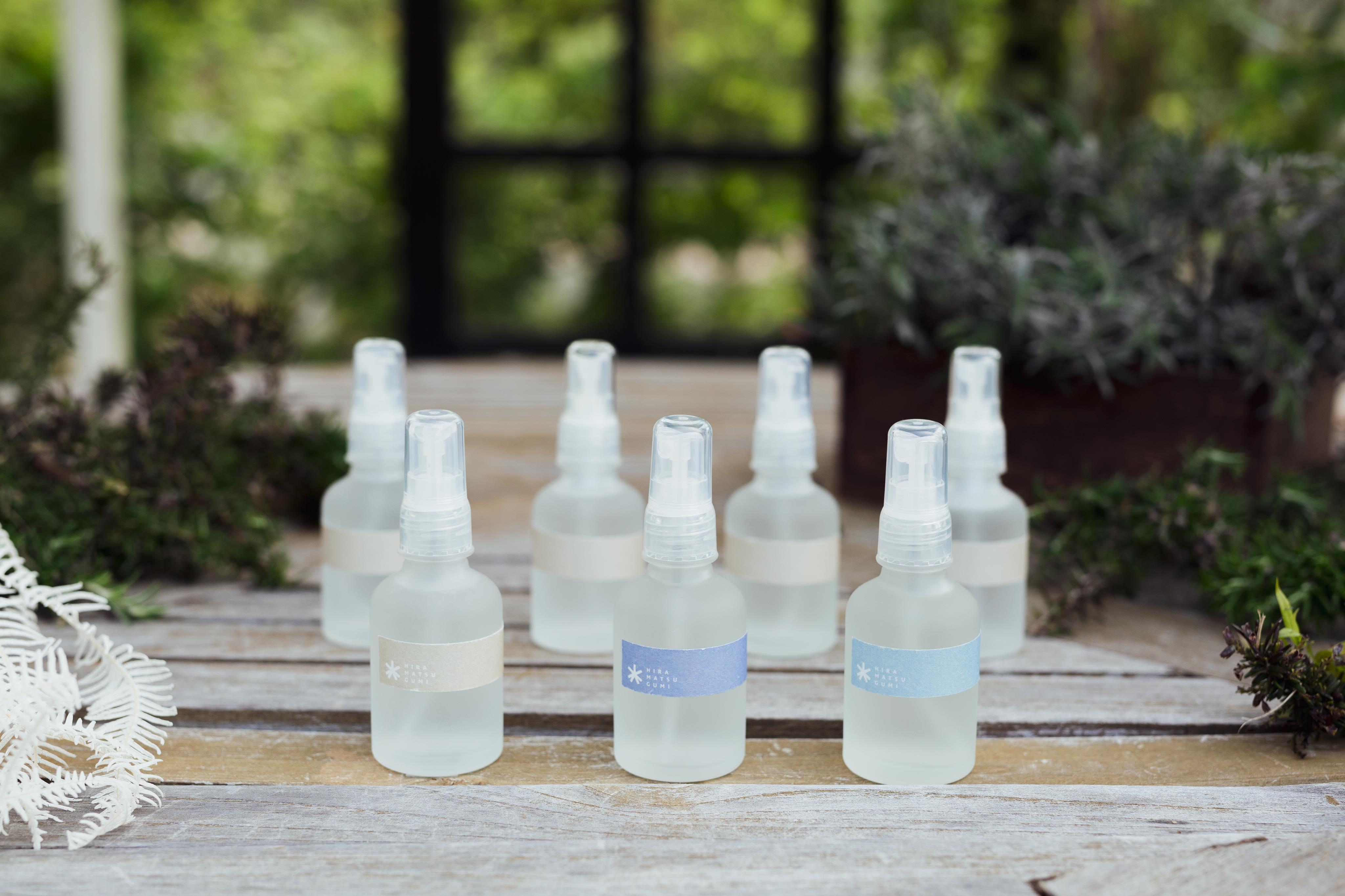 <香りとくらす>淡路島ひのきの香り-HYDROSOL- 5 【直送・同梱不可・送料無料】<花みどりフェア>