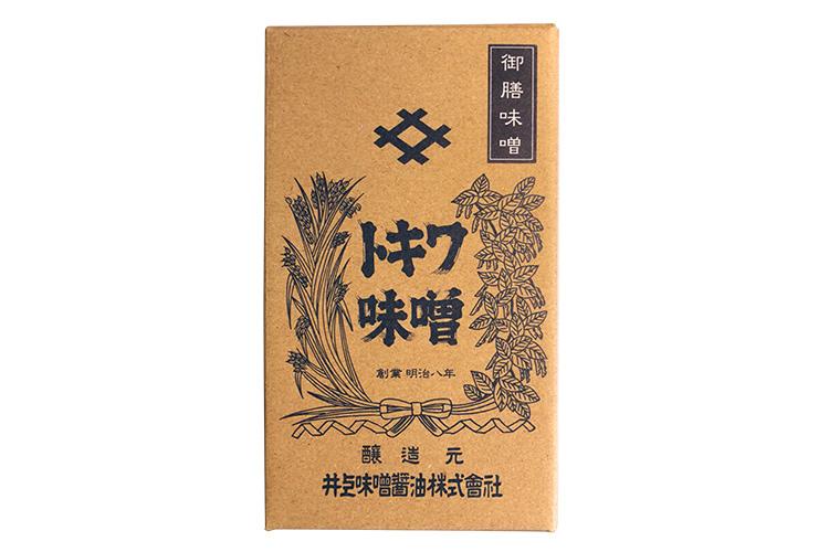 【創業140余年・井上味噌醤油】 木樽鳴門の塩仕込み 御膳味噌(ごぜんみそ)