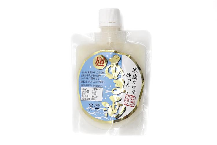 【かわばたみそ】米こうじだけで作った「麹あま酒」 135g(砂糖・添加物不使用)
