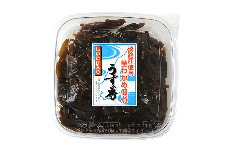 【通販|新物】淡路島産 茎わかめ佃煮 うずの香(椎茸入り)