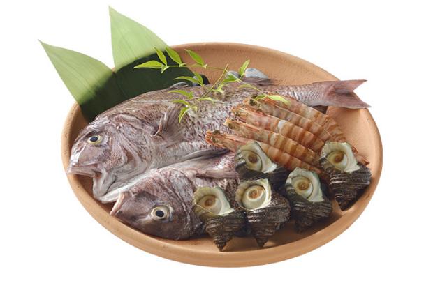 【期間限定】島の桜鯛と海の幸 陶板焼きセット(淡路島レモン付)【5月末まで】