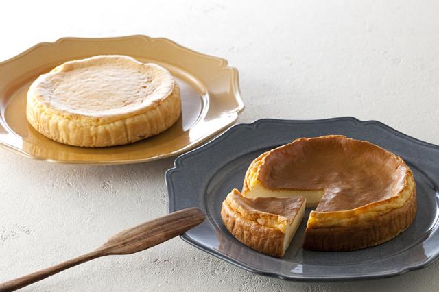 【お中元】 ポイント10倍対象商品 チーズケーキ好きのあの方へ淡路島の卵やミルクを使用した「ベイクドチーズケーキ」プレーンとびわのセット(送料込)