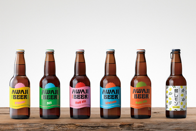 【兵庫県|地ビール】AWAJI BEER あわぢびーる&島レモン 6種6本入りセット【無濾過、非熱処理】