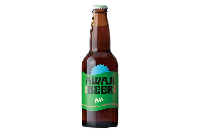【大人のビール|ビターリッチ】 AWAJI BEER あわぢびーる アルト【無濾過・非熱処理】