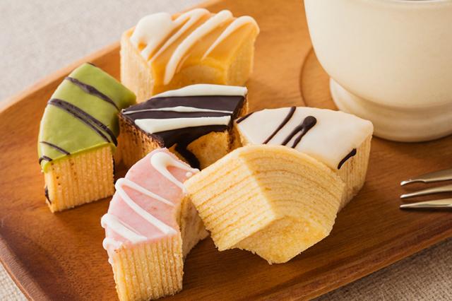 【cafe maaru】 「淡路島ばぁむ」バウムクーヘンセット  5種類入り(化粧箱)【産地直送|同梱不可】