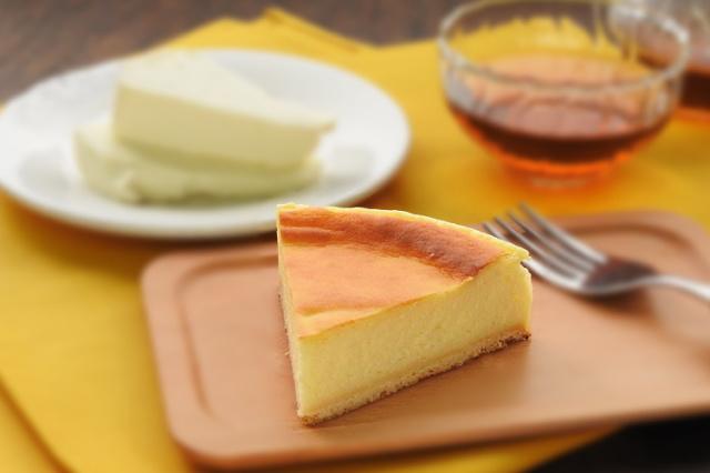 淡路島牛乳で作ったベイクドチーズケーキ プレーン