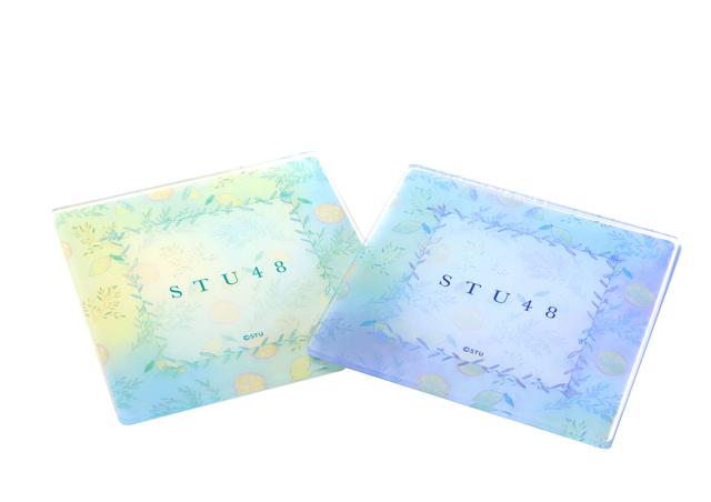 <花みどりフェアオンラインマーケット>STU48 オリジナルボタニカルコースター2枚セット 【数量限定】