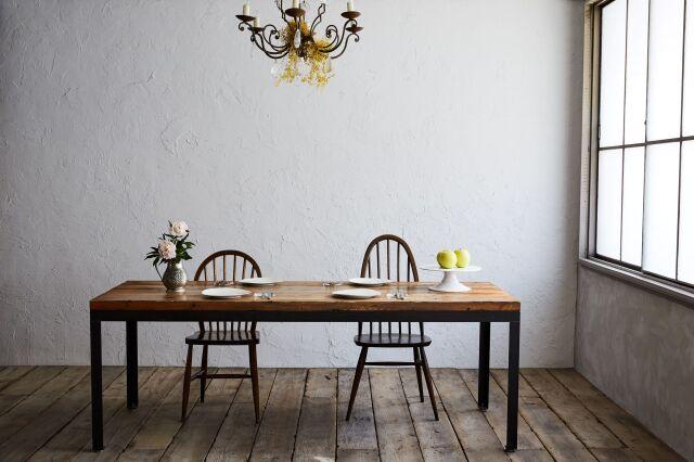 【瀬戸内造船家具】 ダイニングテーブル(ロングサイズ)【送料無料】