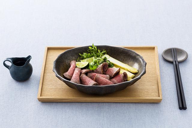 【通販|ギフト】島のロースト職人の味をご自宅で 国産黒毛和牛赤身肉のローストビーフ「天潮節」300g