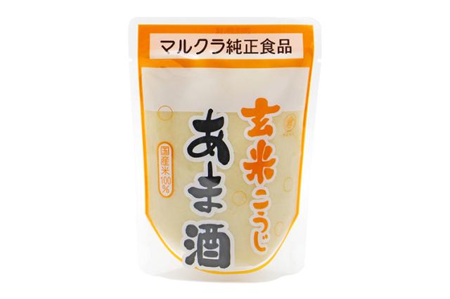 【岡山県マルクラ純正食品】国産 玄米こうじあま酒