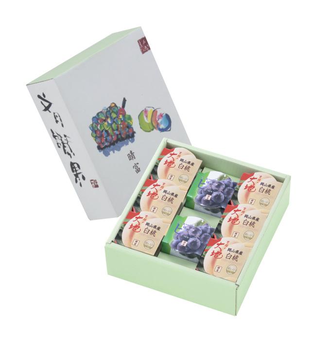 【岡山県】岡山産フルーツゼリー8個セット(白桃6個・ニューピオーネ2個)【産地直送・同梱不可・ギフト可】