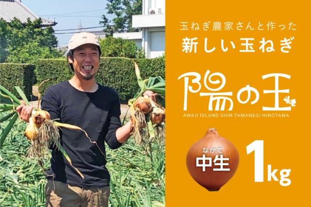 【通販|淡路島産玉ねぎ】陽の玉・中生 1kg
