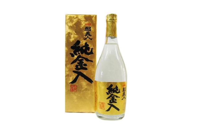 都美人酒造 本醸造純金入り720ml