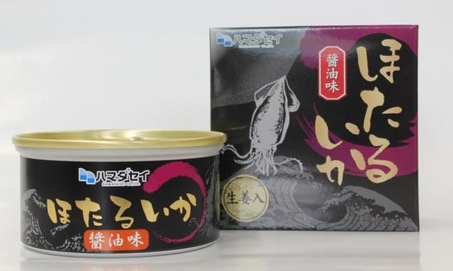 【兵庫県】ほたるいか缶詰 醤油味