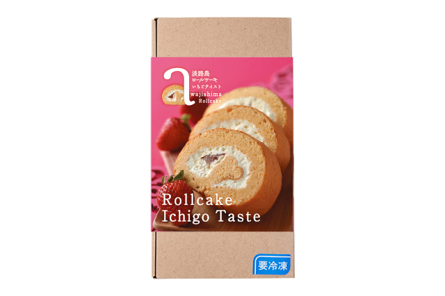 【期間限定】淡路島ロールケーキ いちご