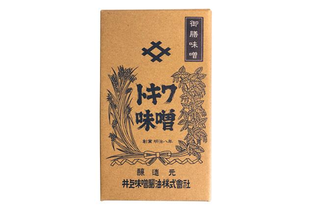 【徳島県|創業140余年・井上味噌醤油】 木樽鳴門の塩仕込み 御膳味噌(ごぜんみそ)