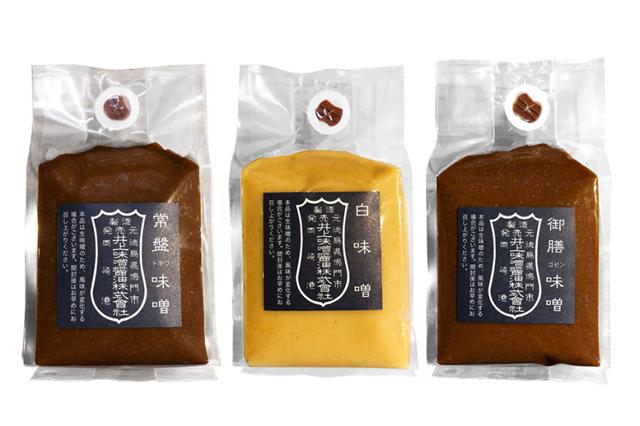 【お歳暮ギフト/送料無料】井上味噌醤油 こだわり味噌3種セット