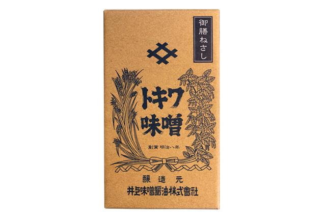 【創業140余年・井上味噌醤油】 木樽仕込み八年 御膳ねさし(ごぜんねさし)