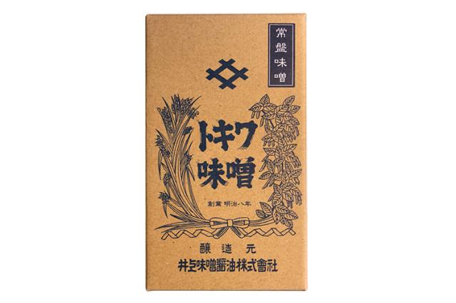【創業140余年・井上味噌醤油】 木樽天日塩仕込み 常盤味噌(ときわみそ)